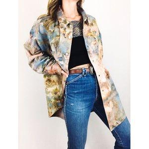 Vintage ⚡️ Hand-Dyed Levi's Shirt Jacket in Sedona